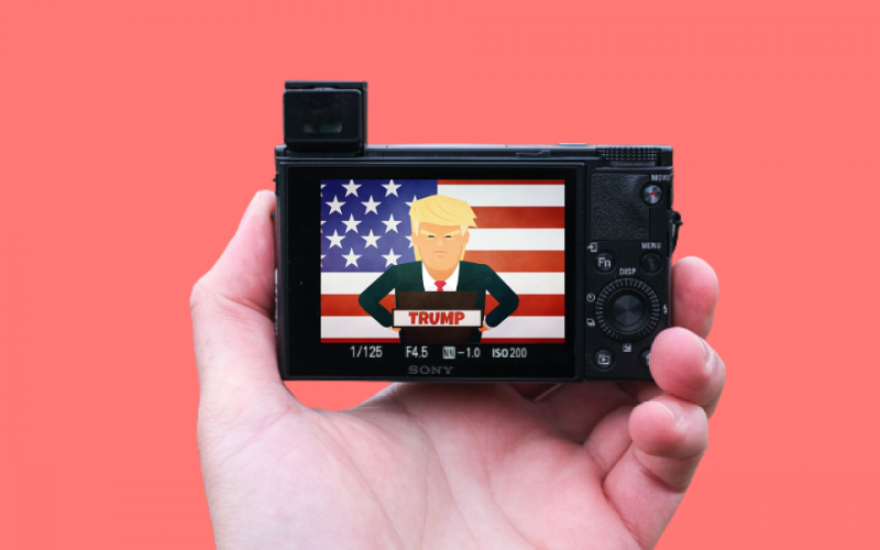 Media's obsession with Donald Trump reaches fever pitch